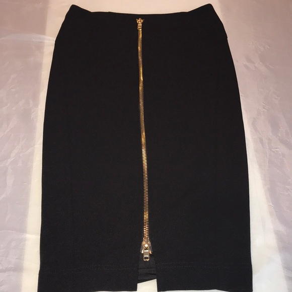 7be5c032ce CQ by CQ Caribbean Queen Skirts | Black Pencil Skirt With Gold ...